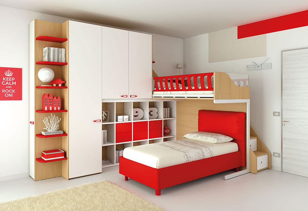 Camerette per bambini mobilificio for Arredamenti per bambini